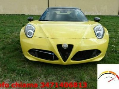 usata Alfa Romeo 4C Spider 4C 1750 TBi Spider usato
