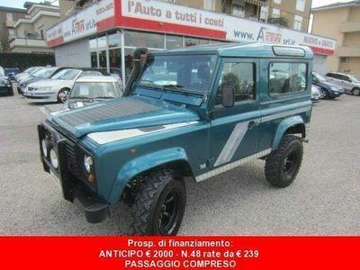 brugt Land Rover Defender 90 2.5 Tdi S.W. County -7 POSTI - Gancio di Traino