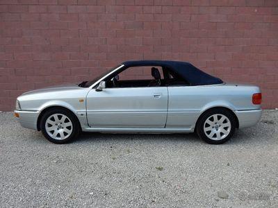 usata Audi 80 Cabrio RARO 2.0 16v 1995 iscritta ASI +CRS
