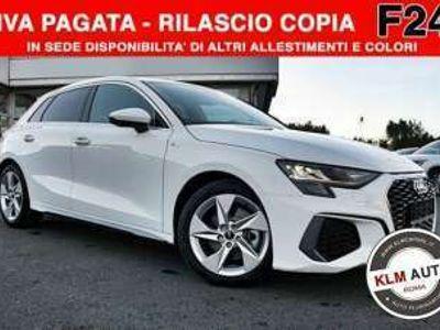 usata Audi A3 Sportback 1ª serie 30 TFSI S line*F24**PRO.CON.GAR.24 MESI*