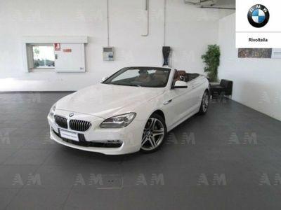 usata BMW 640 Cabriolet Serie 6 d Futura