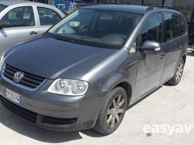 used VW Touran tdi 101cv trendline diesel