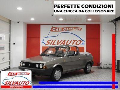usata Fiat Ritmo CABRIO BERTONE 70 S - ISCRITTA ASI