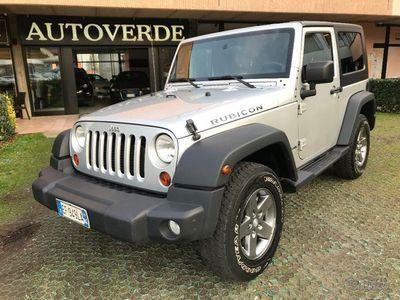 usata Jeep Wrangler 2.8 CRD DPF Rubicon Auto UNIPROPRIETARIO 68000km