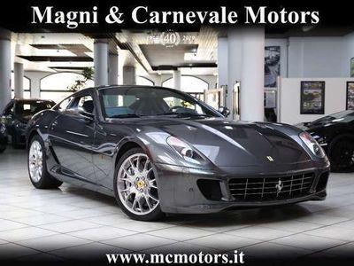 usata Ferrari 599 gtb|carbo|navigatore|bose sound system|uffita