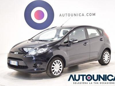 usata Ford Fiesta + 1.2 5 PORTE NEOPATENTATI SOLO 71.000 KM UNIPROPR rif. 7590428