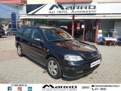 usata Opel Astra Station Wagon 1.6i 16V cat Station Wagon Club del 2000 usata a Boves