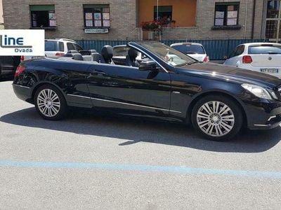 usata Mercedes E250 CDI Cabrio Executive Uniproprietario tagliandata