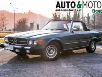 usata Mercedes SL380 r107 *targhe italiane* *2+2* benzina