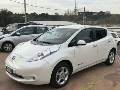 usata Nissan Leaf Acenta 30KWh cold pack solar spoiler