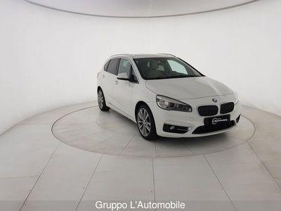 usata BMW 218 Serie 2 Active Tourer F45 2014 d act.tourer Luxury auto