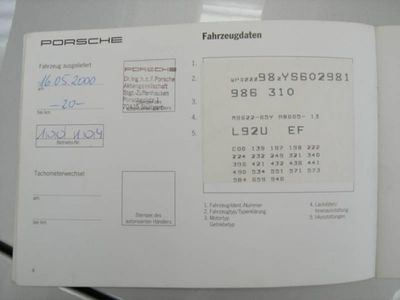 usata Porsche Boxster 2.7i 24V cat TIPTRONIC