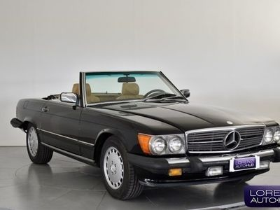 begagnad Mercedes 560 SLcon Hard Top + ASI+ cappottina marrone