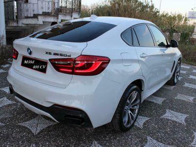 usata BMW X6 50 d m sport 400 cv strafull italiana come nuova