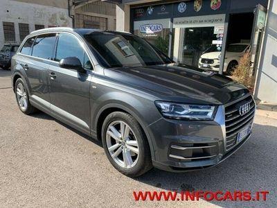 usata Audi Q7 3.0 TDI 218 CV QUATTRO S-LINE BUSINESS PLUS