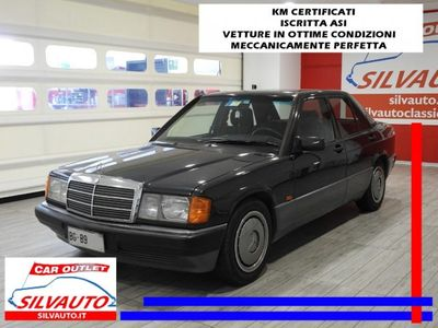 usata Mercedes 190 w201 - iscritta asi con crs benzina