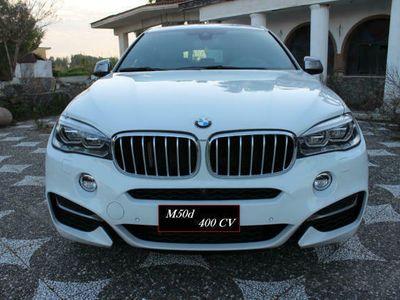 usata BMW X6 M50 d m sport 400 cv strafull italiana come nuova