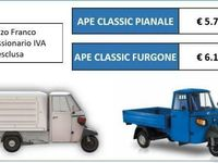 usata Piaggio APE Ape400 Classic IDEALE PER ALLESTIMENTO STREETFOOD