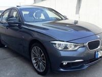 used BMW 320 d Luxury automatica navy pelle tot