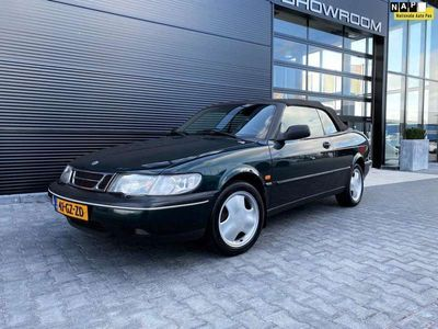 tweedehands Saab 900 Cabriolet 2.3 SE, APK 7-2021, WERKEND DAK! LEER!