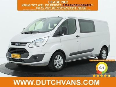 tweedehands Ford Custom Transit2.2TDCI L2H1 Dubbele Cabine Airco / Cruise control