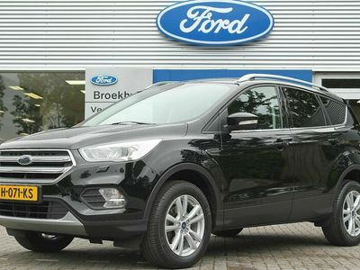 tweedehands Ford Kuga 1.5EB 150PK TREND ULTIMATE | COMPLEET! | CLIMA | STOELVERW | 17'' LMV | CRUISE | GETINT GLAS | DAKRAILS