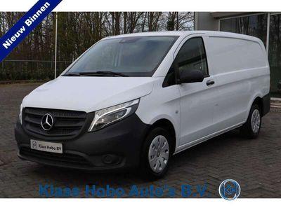 tweedehands Mercedes Vito 114 CDI Lang Airco, Parkeersensoren, LED, Navigati