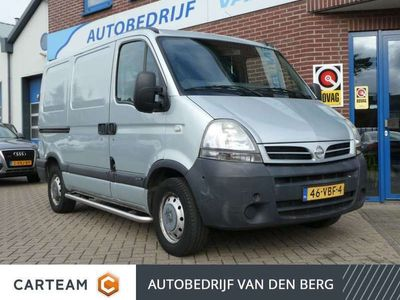 tweedehands Nissan Interstar 2.5dCi L1H1 Airco Side-Bars Trekhaak 3-Zits .