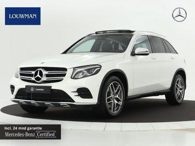 tweedehands Mercedes 250 GLC-KLASSE4MATIC AMG Line | Panoramadak | Camera | Stoelverw. | Blindspot | Inclusief 24 MB Premium Certified garantie voor Europa.