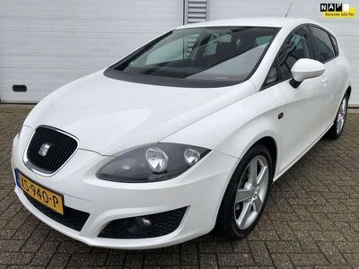 tweedehands Seat Leon 1.2 TSI 105 PK 6 BAK Bj 2010 Ecomotive Reference 5 Deurs Airco Pdc Έlectric.Pakket 17 Inch Extra,s