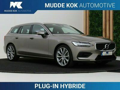 tweedehands Volvo V60 2.0 T6 Twin Engine AWD Momentum Pro | Aut | Leder | Harman/Kardon | Keyless | DAB+ | Camera | Standkachel | Apple Carplay