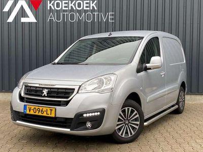 tweedehands Peugeot Partner 1.6 BlueHDi 100pk 3-zits Premium Pack Trekhaak Nav