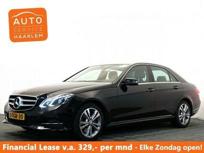 tweedehands Mercedes E300 BLUETEC HYBRID AVANTGARDE AMG AUT, Leer Navi, Xe