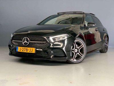 tweedehands Mercedes A180 d AMG Panorama Camera Alcantara