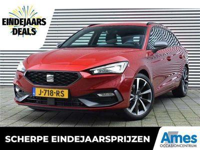 tweedehands Seat Leon  Sportstourer 1.5 eTSI 150pk FR Launch Edition | Navigatie | Achteruitrijcamera | achterklep | Keyless entry/go | 18'