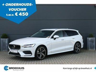 tweedehands Volvo V60 2.0 T6 Twin Engine AWD Momentum Pro Camera| Blis| Adaptieve cruise| Camera| Stoel+stuurverwarming| Keyless