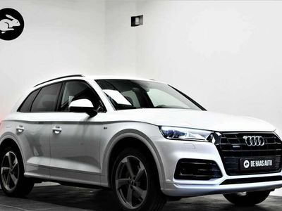 tweedehands Audi Q5 2.0 TFSI quattro S-Line/Zwart optiek/20 inch/Acc