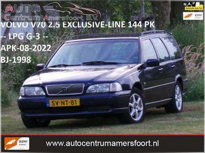 tweedehands Volvo V70 2.5 Exclusive-Line ( LPG G-3 + INRUIL MOGELIJK )