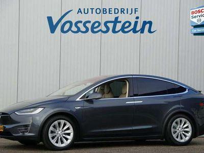 tweedehands Tesla Model X 90D Base 6p. 6-Persoons / Panoramadak / Camera / L