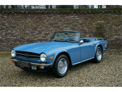 tweedehands Triumph TR6 First paint and fully original with only 27000 Mil