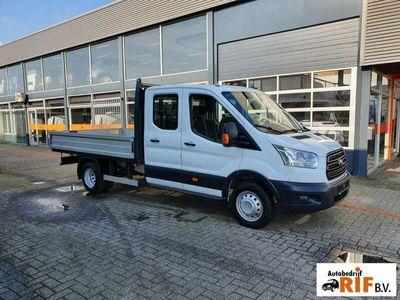 tweedehands Ford Transit Pick up DC Maxi Pritsche Doka Euro 5