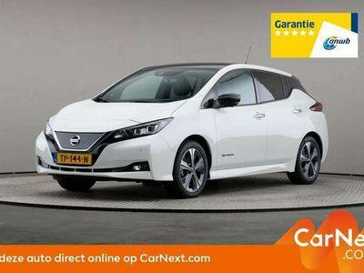 tweedehands Nissan Leaf Tekna 40kWh, Automaat, LED, € 21.900