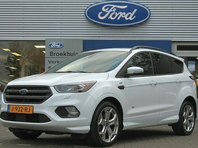 tweedehands Ford Kuga 1.5EB 182PK AUTOMAAT AWD ST-LINE | VOL! | PANORAMADAK | TREKHAAK | 19'' LMV | XENON | CAMERA | WINTER PACK | SCHAKELFLIPPERS