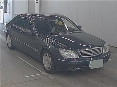 tweedehands Mercedes S600 Lang on it's way to holland auction report avaliab