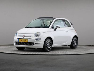 tweedehands Fiat 500C TwinAir Turbo 80 Collezione, Airconditioning, Navigatie