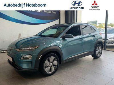tweedehands Hyundai Kona  EV Premium 64 kWh Direct Leverbaar ! Diverse kleuren Prijs ex btw incl 3.000,- Voorraad voordeel