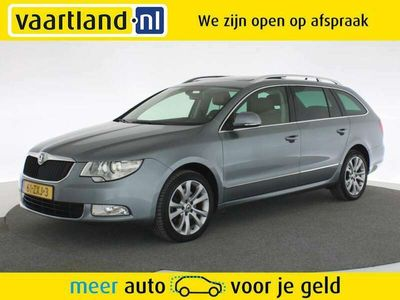 tweedehands Skoda Superb COMBI 1.8 TSI Ambition Aut. [ Panoramadak Xenon Na