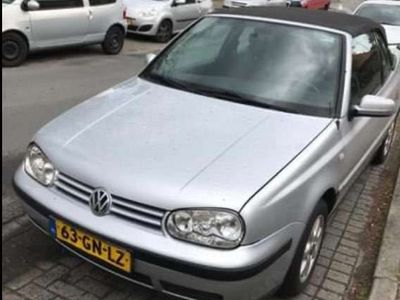 tweedehands VW Golf Cabriolet 2.0 Trendline