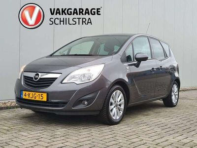 tweedehands Opel Meriva 1.4 Turbo Design Edition Trekhaak, Stuur/stoelverwarming, Airco