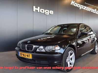 tweedehands BMW 318 Compact 318td Comfort Line Airco Lichtmetaal All i